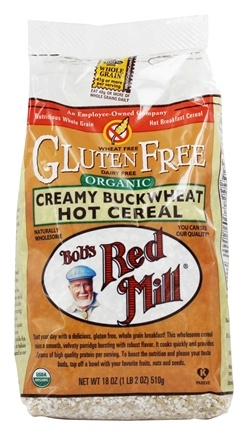 Bob's Red Mill - Organic Creamy Buckwheat Hot Cereal - 18 oz.