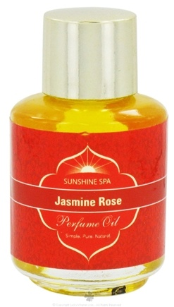 DROPPED: Sunshine Spa - Perfume Oil Jasmine Rose - 0.25 oz.