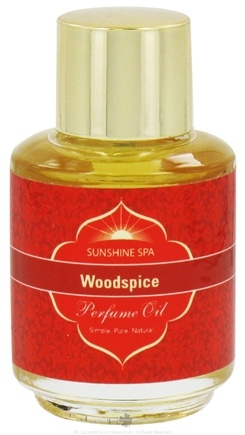DROPPED: Sunshine Spa - Perfume Oil Woodspice - 0.25 oz. CLEARANCE PRICED