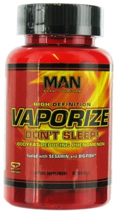 DROPPED: MAN Sports - High-Definition Vaporize with Sesamin - 90 Red-Gel(s)