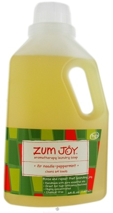 DROPPED: Indigo Wild - Zum Joy Aromatherapy Laundry Soap Fir Needle Peppermint - 64 oz.
