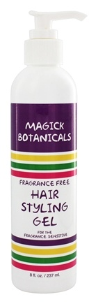 magick botanicals hair styling gel buy magick botanicals hair styling gel fragrance free 3916