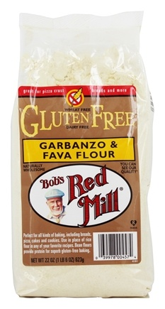 Bob's Red Mill - Gluten Free Garbanzo & Fava Flour - 22 oz.