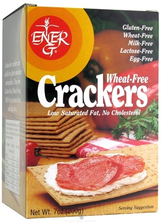 DROPPED: Ener-G - Gluten Free Crackers Wheat Free - 7 oz.