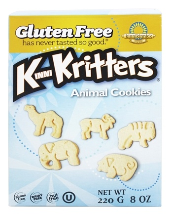 DROPPED: Kinnikinnick Foods - KinniKritters Animal Cookies - 8 oz.