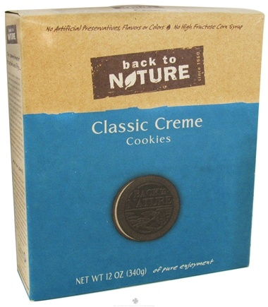 DROPPED: Back To Nature - Cookies Classic Creme - 12 oz. CLEARANCE PRICED