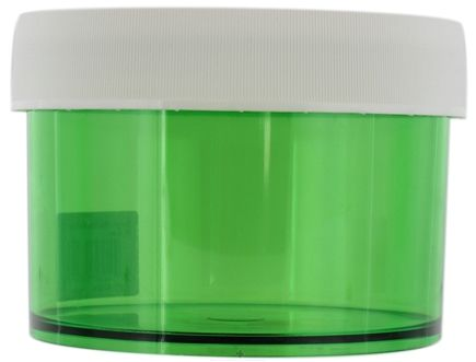 Zoom View - Straight Side Wide Mouth Jar Meadow Green