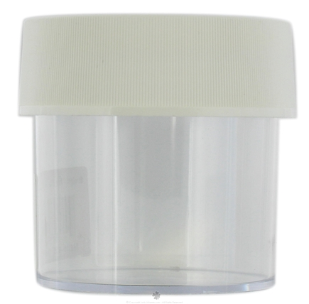 DROPPED: Nalgene - Straight Side Wide Mouth Jar Clear - 4 oz. CLEARANCE PRICED