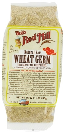 DROPPED: Bob's Red Mill - Wheat Germ Natural Raw - 16 oz.