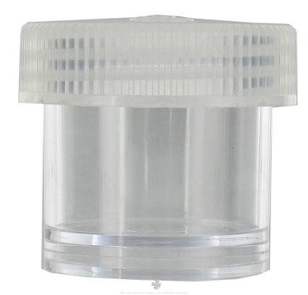 DROPPED: Nalgene - Straight Side Wide Mouth Jar Clear - 2 oz. CLEARANCE PRICED