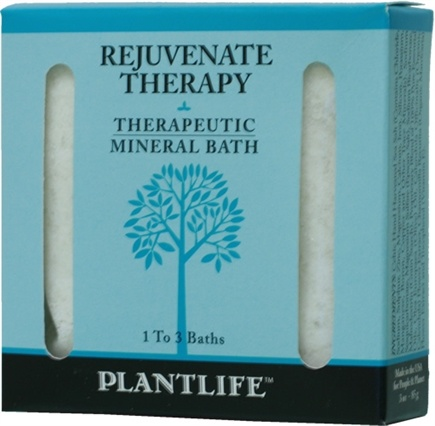 DROPPED: Plantlife Natural Body Care - Therapeutic Mineral Bath Rejuvenate Therapy - 3 oz. CLEARANCE PRICED
