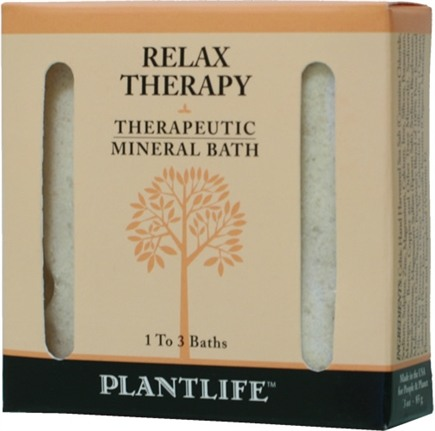 DROPPED: Plantlife Natural Body Care - Therapeutic Mineral Bath Relax Therapy - 3 oz. CLEARANCE PRICED