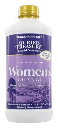 Buried Treasure Products - Women's Change Hormonal Support - 16 oz.