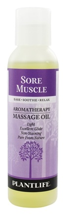 Zoom View - Aromatherapy Massage Oil Sore Muscle