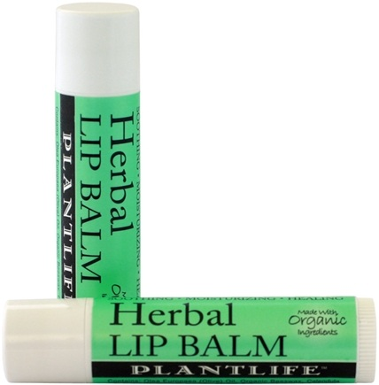DROPPED: Plantlife Natural Body Care - Herbal Lip Balm - 0.25 oz. CLEARANCE PRICED