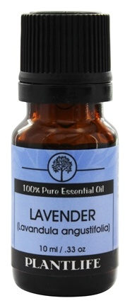 Plantlife Natural Body Care - 100% Pure Essential Oil Lavender - 10 ml.