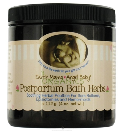 DROPPED: Earth Mama Angel Baby - Postpartum Bath Herbs - 4 oz. CLEARANCE PRICED