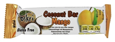 Zoom View - Organic Coconut Bar Gluten-Free