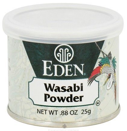 DROPPED: Eden Foods - Wasabi Powder - 0.88 oz. CLEARANCE PRICED