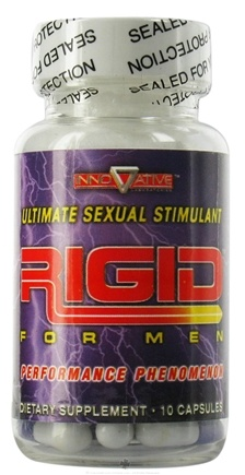 DROPPED: Innovative Laboratories - Rigid Ultimate Sexual Stimulant For Men - 10 Capsules