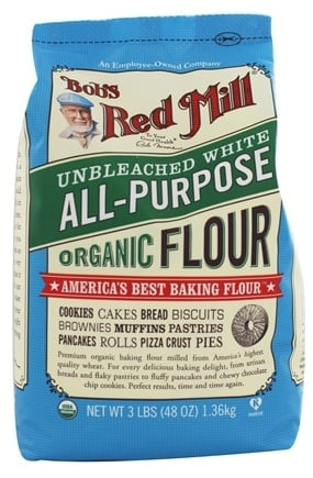 Zoom View - Organic Unbromated Unbleached White Flour