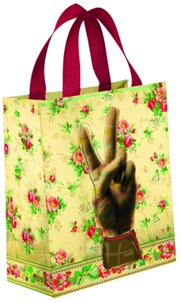 Zoom View - Get Real Peace Tote Bag