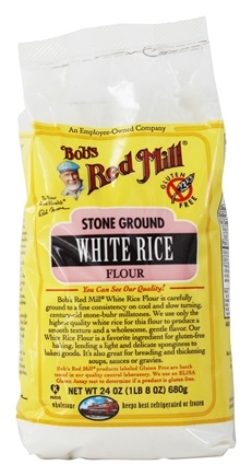 Bob's Red Mill - Gluten-Free White Rice Flour - 24 oz.