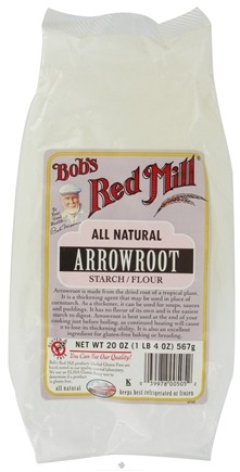 DROPPED: Bob's Red Mill - Arrowroot Starch/Flour All Natural Gluten Free - 20 oz.