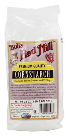 Bob's Red Mill - Gluten Free Corn Starch - 22 oz.