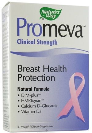 DROPPED: Nature's Way - Promeva Breast Health Protection Clinical Strength Natural Formula - 30 Vegetarian Capsules CLEARANCE PRICED