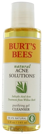 DROPPED: Burt's Bees - Natural Acne Solutions Purifying Gel Cleanser - 5 oz.