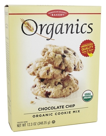 DROPPED: European Gourmet Bakery - Organic Cookie Mix Chocolate Chip - 12.3 oz.