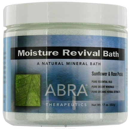 DROPPED: Abra Therapeutics - Moisture Revival Bath Sunflower & Rose Petals - 17 oz. CLEARANCE PRICED