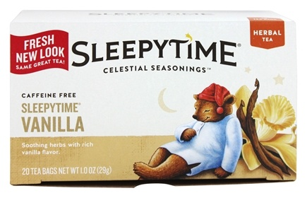 Celestial Seasonings - Herbal Tea Sleepytime Vanilla - 20 Tea Bags