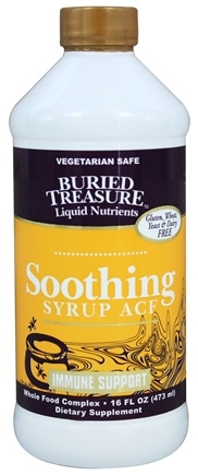 DROPPED: Buried Treasure Products - Soothing Syrup ACF Immune Support - 16 oz.