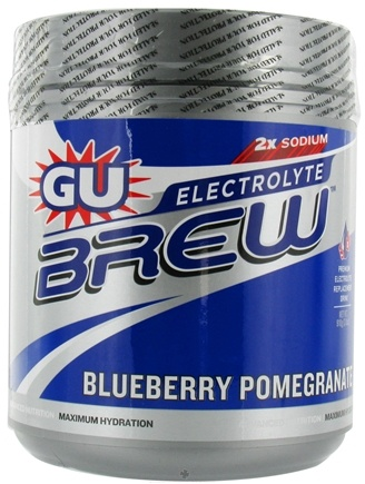 DROPPED: GU Energy - GU Electrolyte Brew Canister Blueberry Pomegranate - 910 Grams