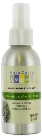 DROPPED: Aura Cacia - Aromatherapy Mist For Room and Body Elevating Frosty Pine - 4 oz. CLEARANCE PRICED
