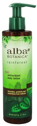 DROPPED: Alba Botanica - Rainforest Antioxidant Body Lotion Acai - 8 oz. CLEARANCE PRICED