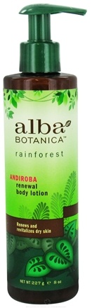 DROPPED: Alba Botanica - Rainforest Renewal Body Lotion Andiroba - 8 oz. CLEARANCE PRICED