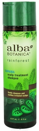 DROPPED: Alba Botanica - Rainforest Scalp Treatment Shampoo Copaiba - 8 oz. CLEARANCE PRICED