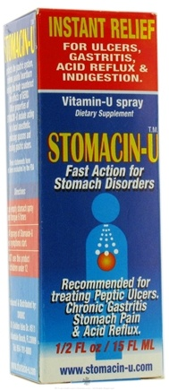 DROPPED: Vitamin-U - Stomacin-U 1/2 oz.