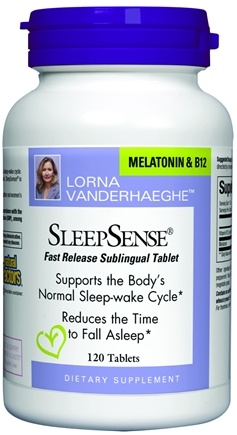 DROPPED: Natural Factors - Lorna Vanderhaeghe SleepSense - 120 Tablets