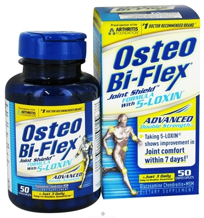 DROPPED: Osteo Bi-Flex - Joint Shield Formula With 5-Loxin Advanced Double Strength - 50 Caplets CLEARANCE PRICED