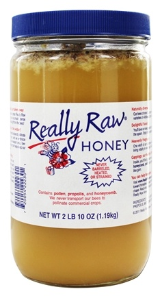 Really Raw Honey - Pesticide-Free Honey (1.19kg) - 2.63 lbs.
