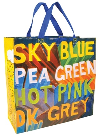Zoom View - Get Real Color Blind Shopper Bag