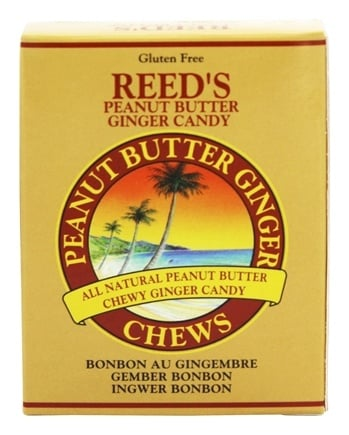 DROPPED: Reed's - Candy Chews Peanut Butter Ginger - 2 oz.