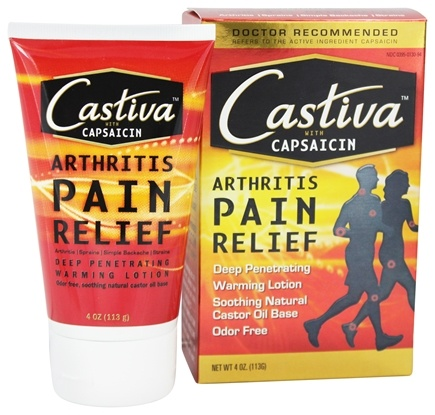Castiva - Warming Arthritis Pain Relief with Capsaicin - 4 oz.
