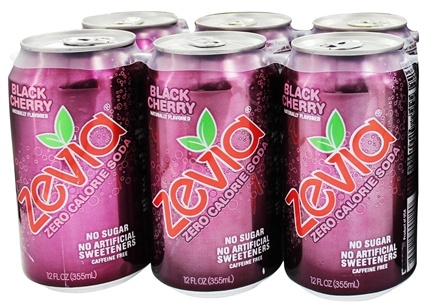 Zoom View - All Natural Soda Sweetened with Stevia 12 oz. Cans