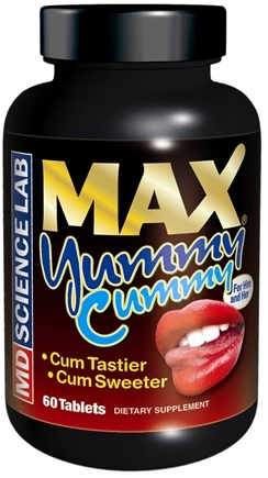DROPPED: MD Science Lab - Max Yummy Cummy - 60 Capsules CLEARANCE PRICED