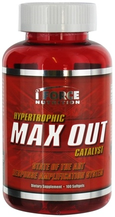 DROPPED: iForce Nutrition - Max Out Hypertrophic Catalyst - 100 Softgels